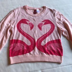 Pink Flamingo Sweater